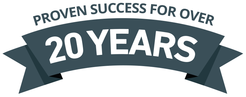 Proven Success Over 20 Years