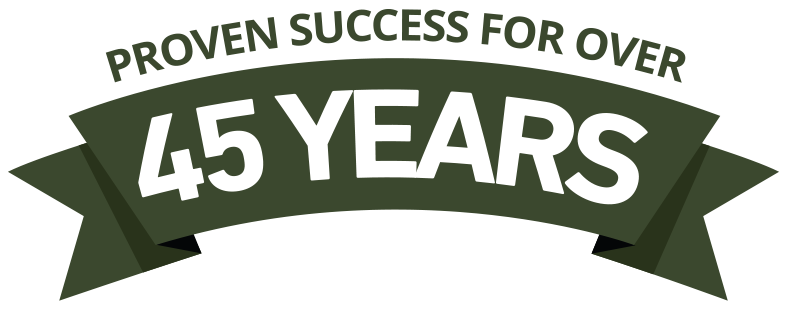 Proven Success Over 45 Years